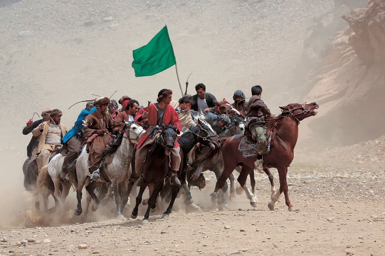 アフガニスタンの国技ブズカシ