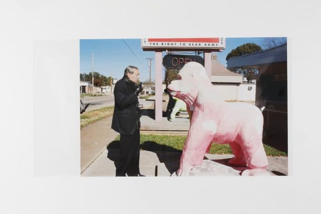 ユルゲン・テラー「William Eggleston and Pink Gorilla, Memphis」