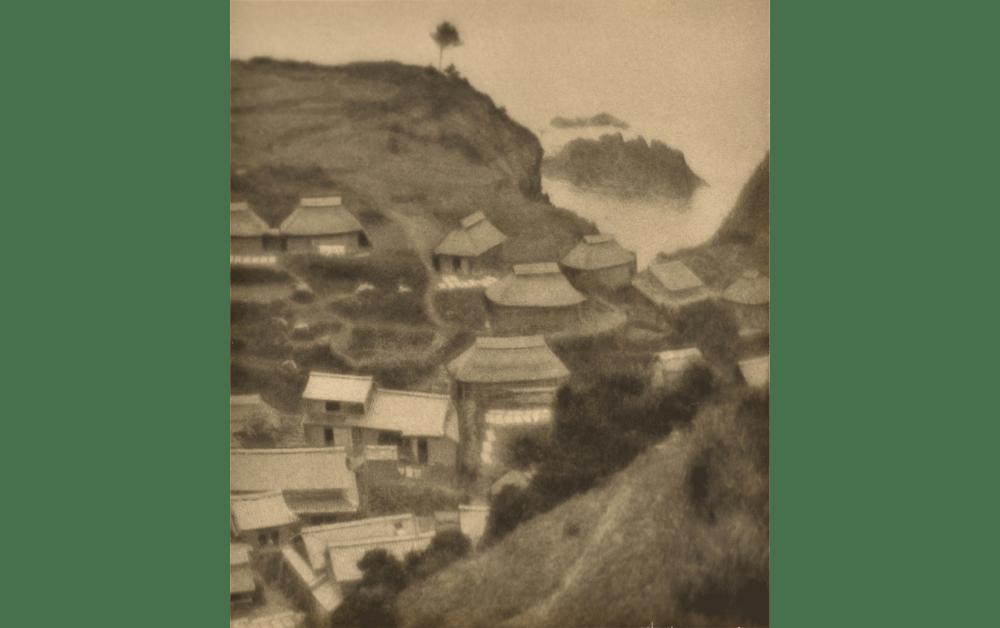 《村の鳥瞰》1925(大正14)年