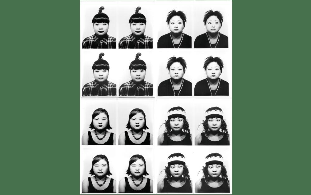 澤田知子《ID400》(部分)1998年