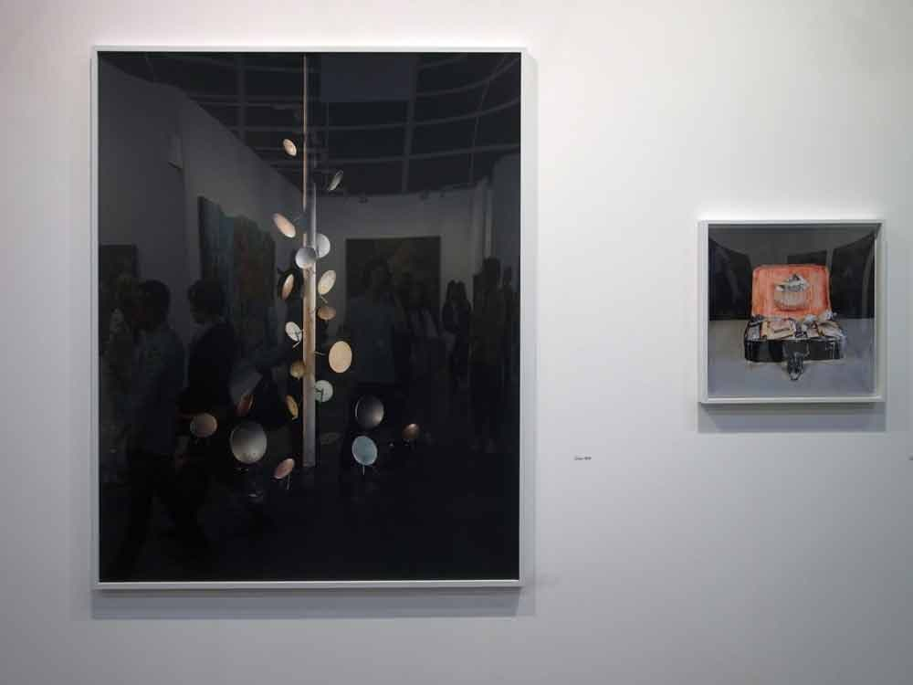 Galerie Rüdiger Studio(ミュンヘン)での陈维による写真作品。