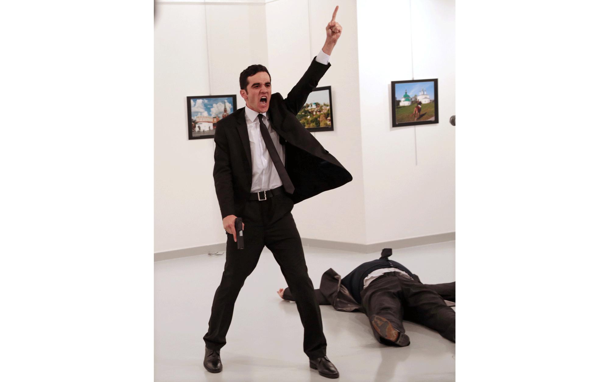 ブルハン・オズビリジ(トルコ、AP通信)2016年12月19日(アンカラ、トルコ)