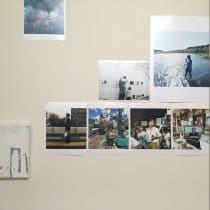 スタジオ35分で『IMA』Vol.20から発展した写真と絵画のコラボレーション展が開催中