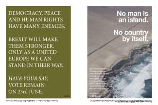 「Anti-Brexit Campaign」 ヴォルフガング・ティルマンス
