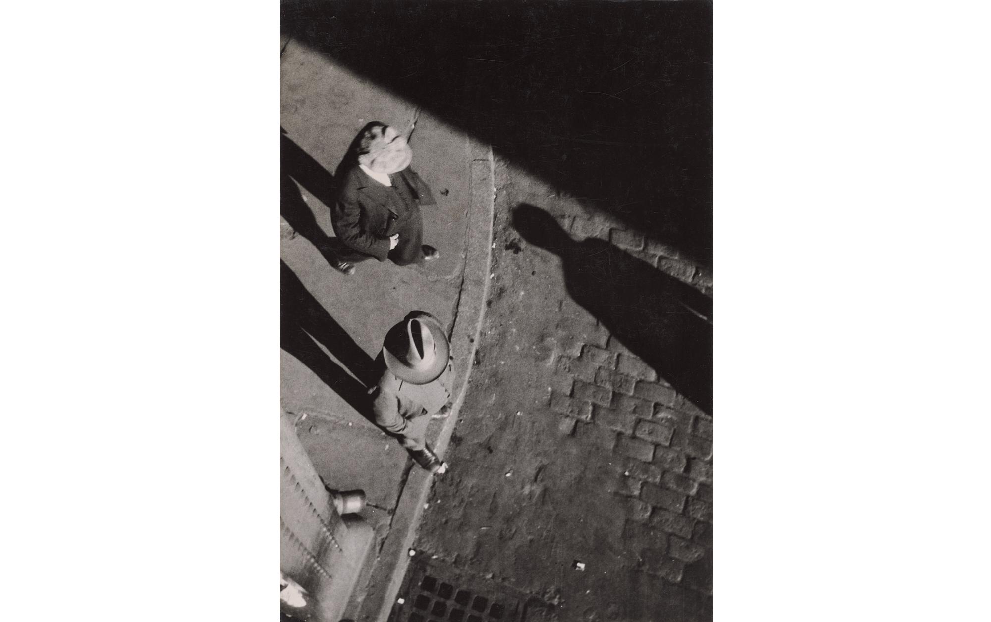 New York City Street Corner, 1929
