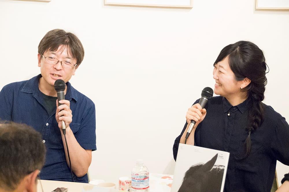 Talk Masako Tomiya × Kenji Takazawa