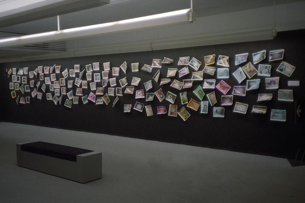 深瀬昌久写真展「私景'92」展示風景