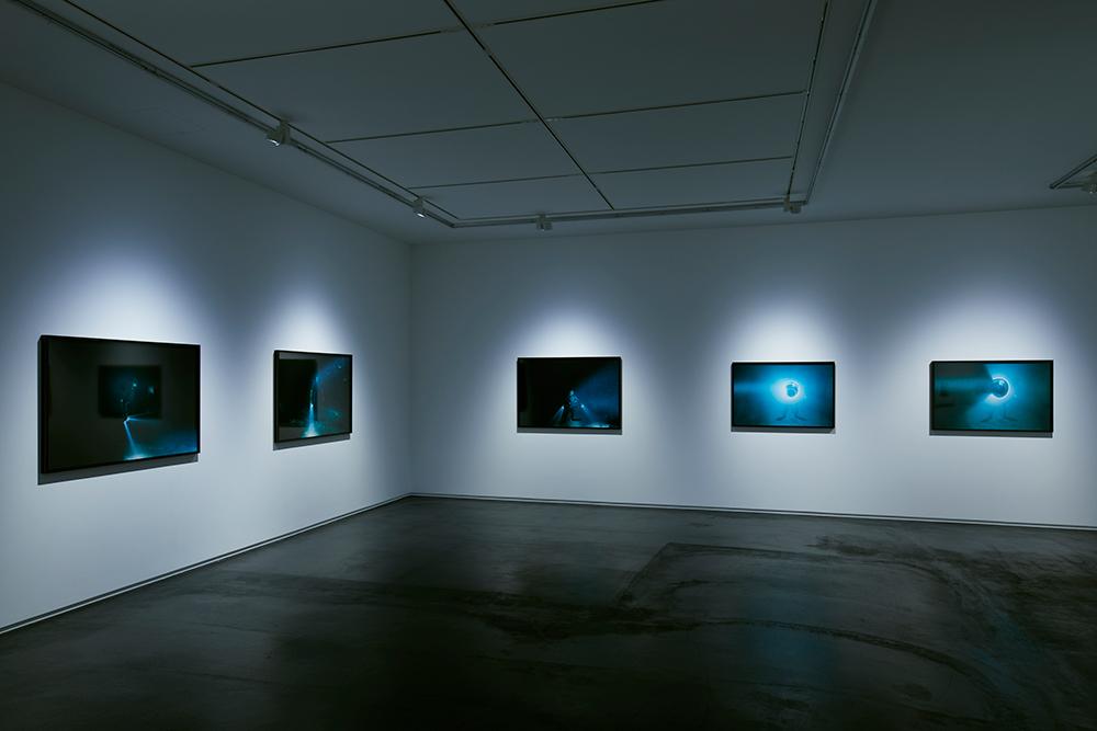 野口里佳「海底」展示風景 タカ・イシイギャラリー東京