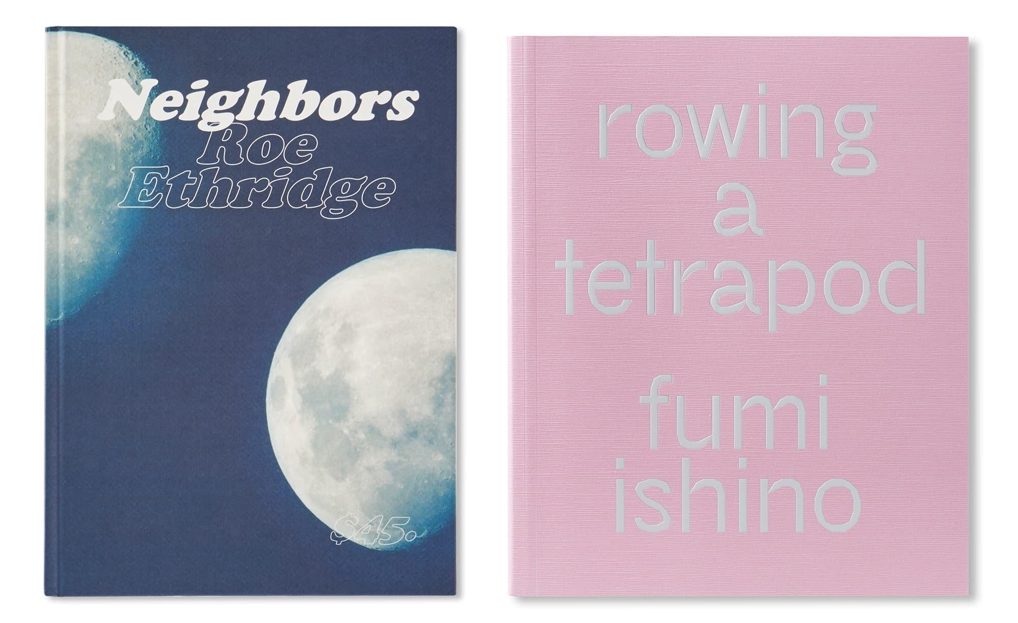 イギリスの出版社MACKより昨年刊行されたRoe Ethridge『Neighbors』と、今年9月に刊行された石野郁和『Rowing a Tetrapod』